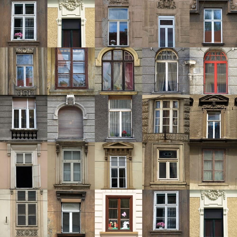 Fenster meiner Stadt