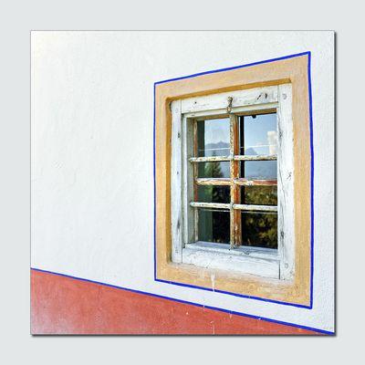Fenster mit Landschaft
