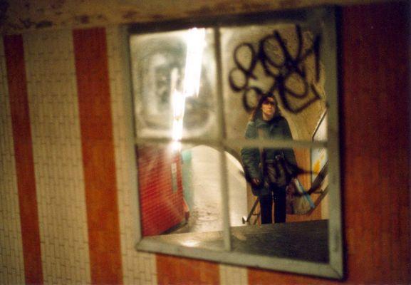 Fenster um die Ecke
