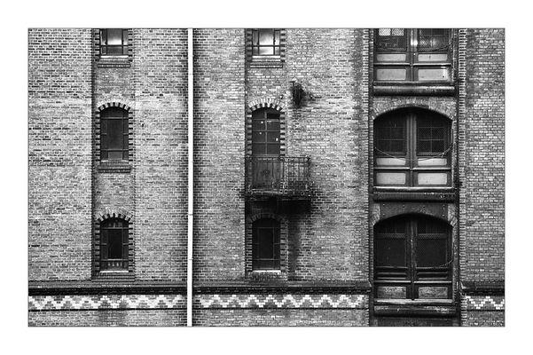 Fenster von Hamburg