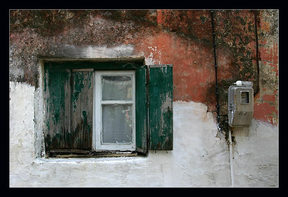 Fenster, Zähler und ne Buddel