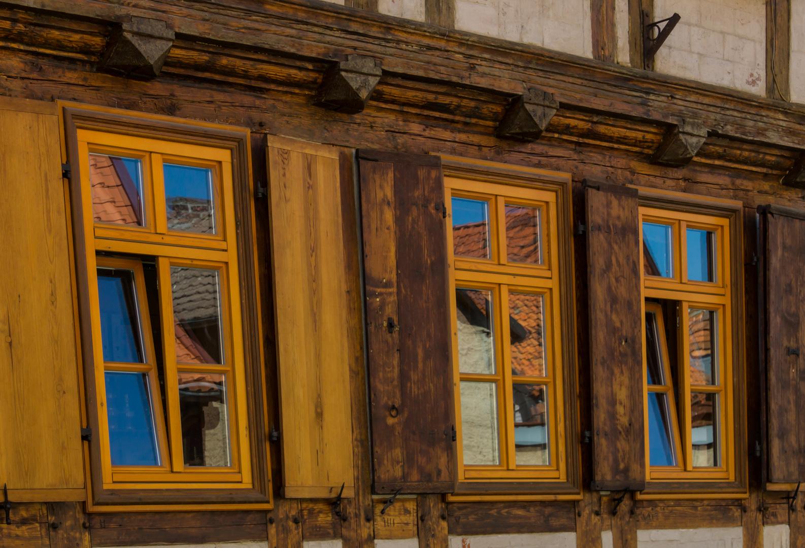 Fenster zum Himmel - Quedlinburg/Ostharz