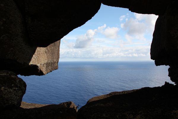 Fenster zum Ozean - Poike - Osterinsel - Rapa Nui