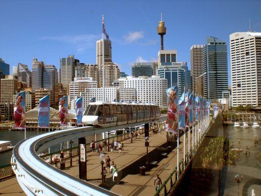 Fensterblick - Sydney 2008