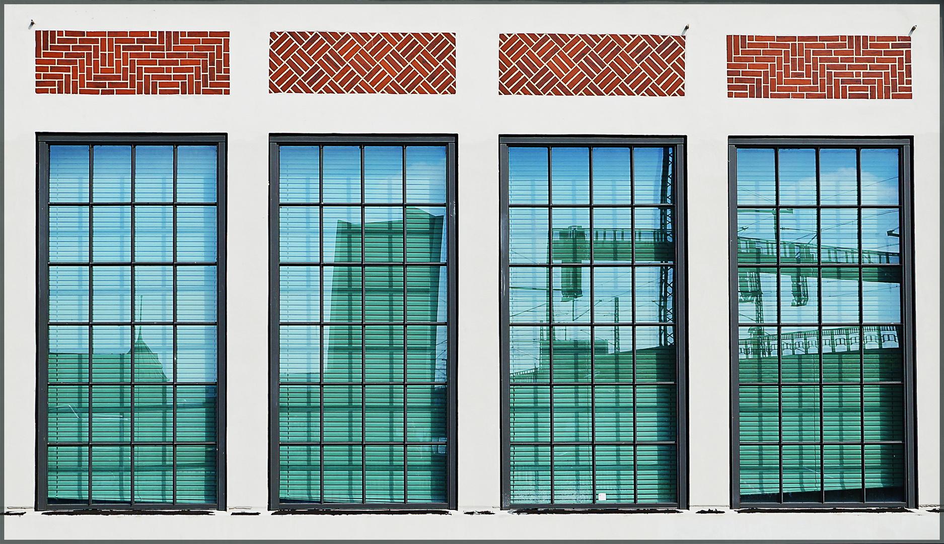 Fensterfront - Deichtorhallen