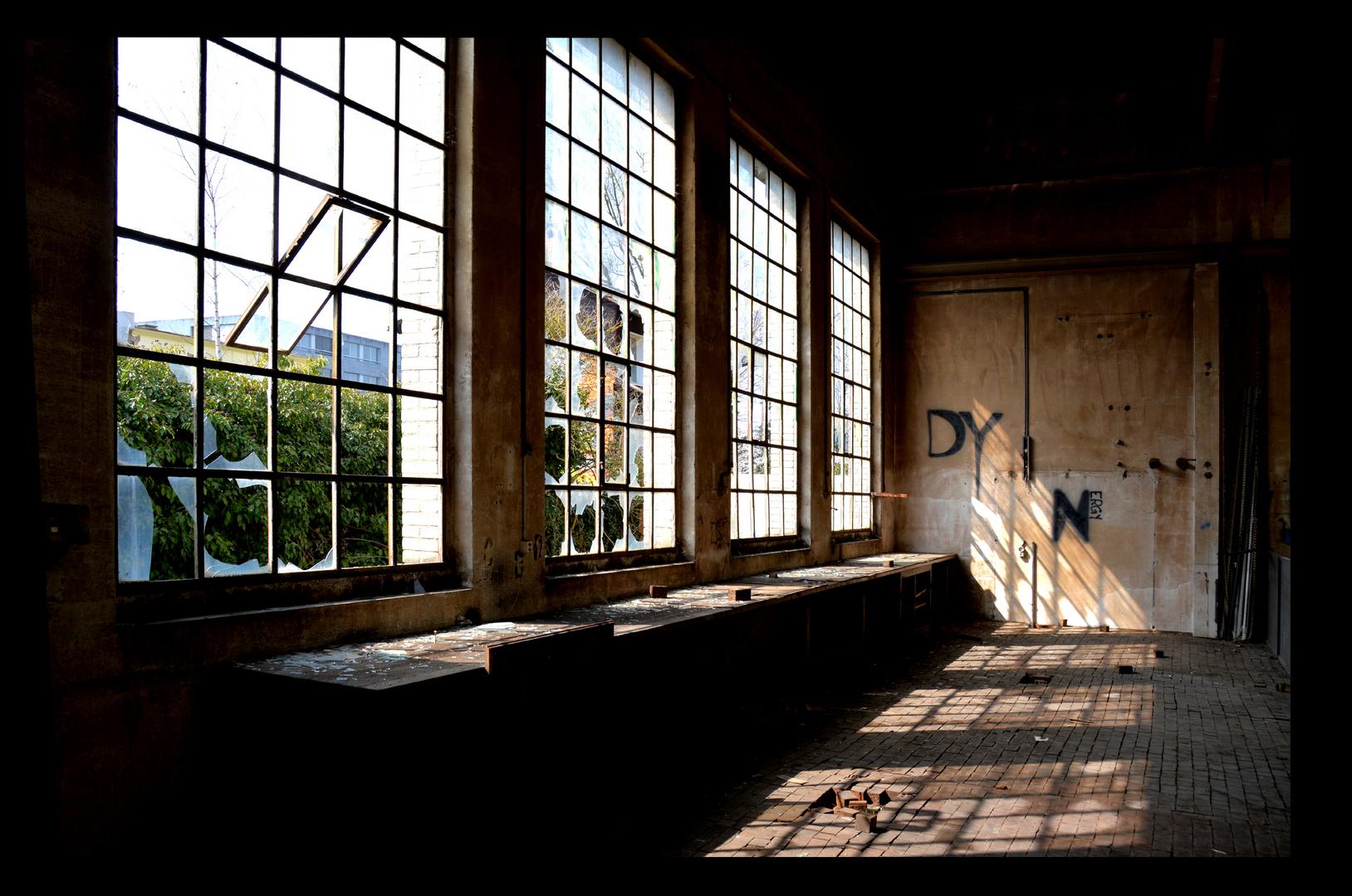 Fensterfront mit Durchzug