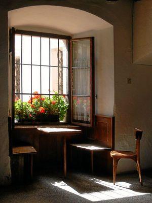 Fensteridylle Kloster Neustift