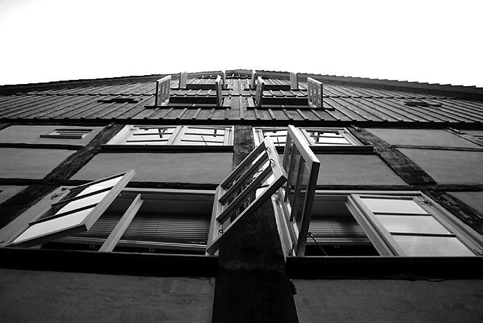 Fensterklappern