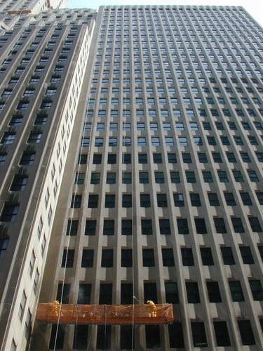 Fensterputzer in New York City