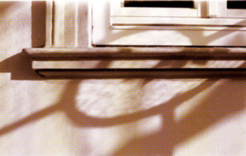 Fensterrahmenschatten