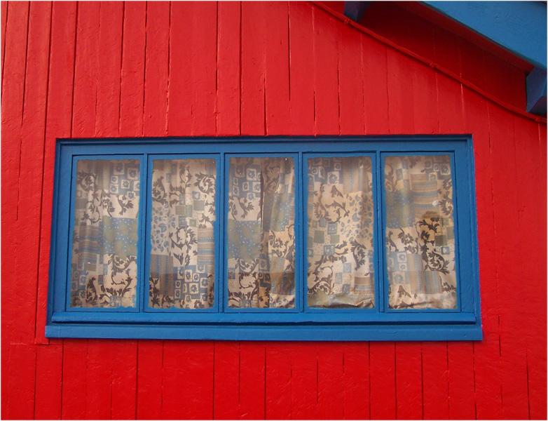 Fenêtre bleue