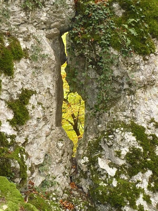Fenêtre dans le rocher