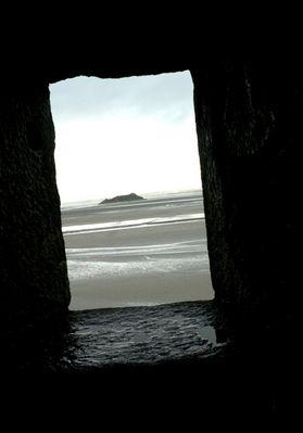 fenêtre sur plage