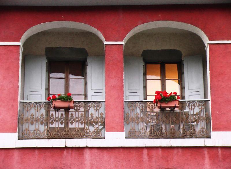 Fenêtres sur le Thiou (Annecy)
