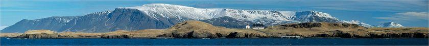 [ Á ferð um Ísland - Die Insel Viðey ] von Raymó