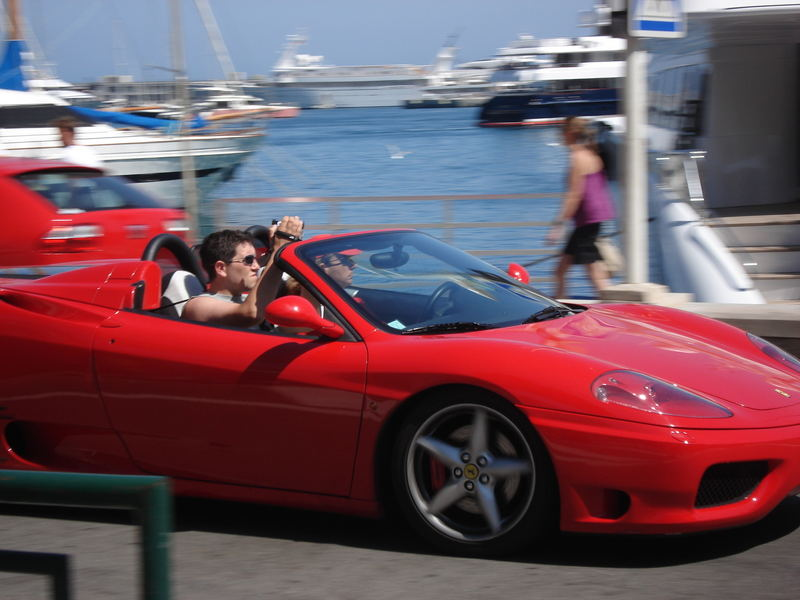 Ferarri in Monaco