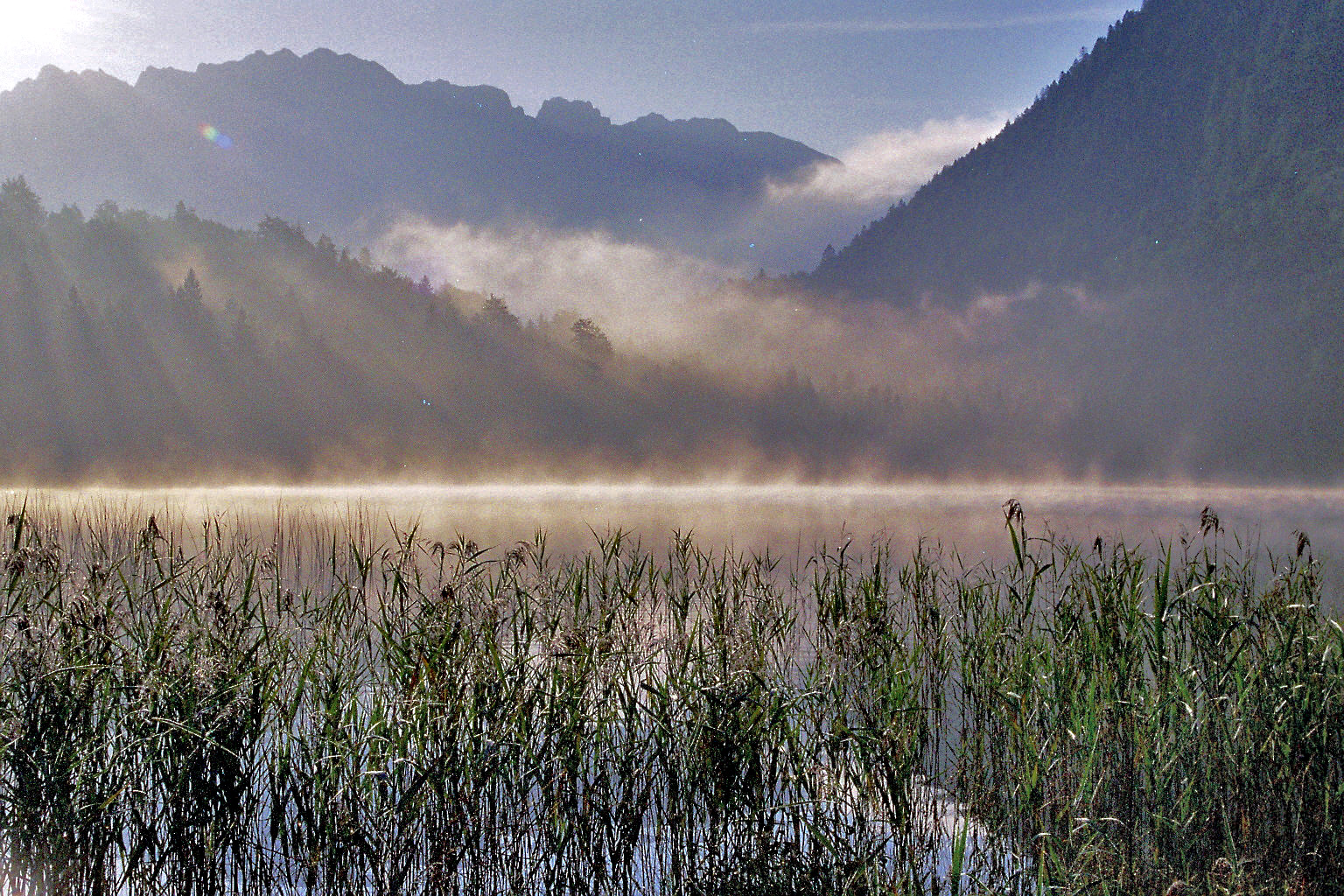 ferchensee am Morgen