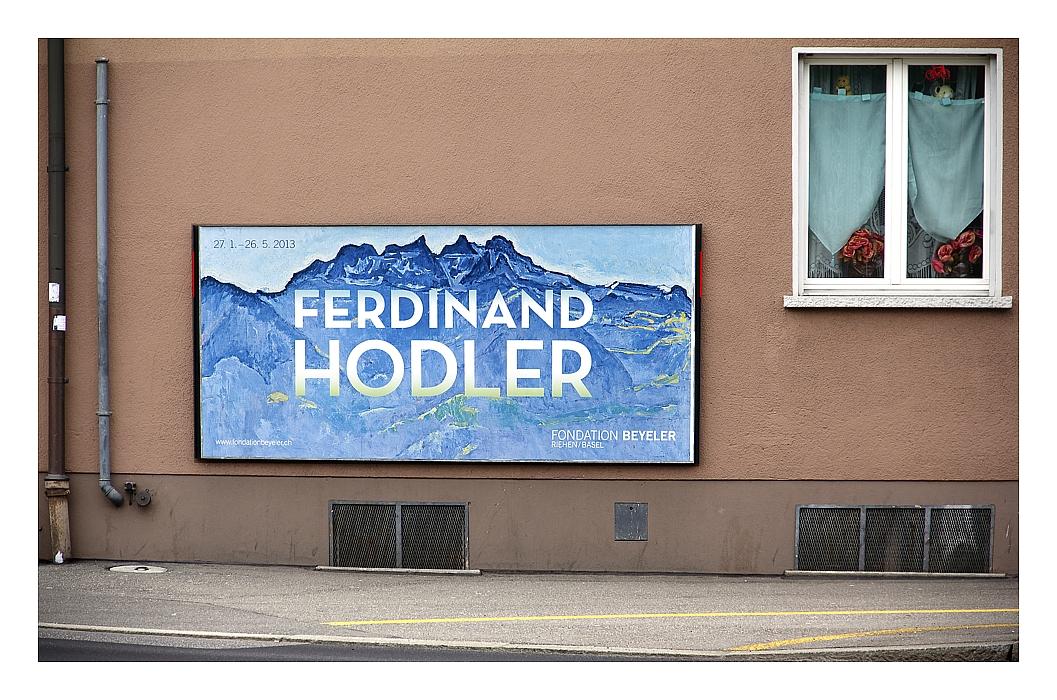 Ferdinand Hodler in Bern, endlich freie Sicht auf die Berge