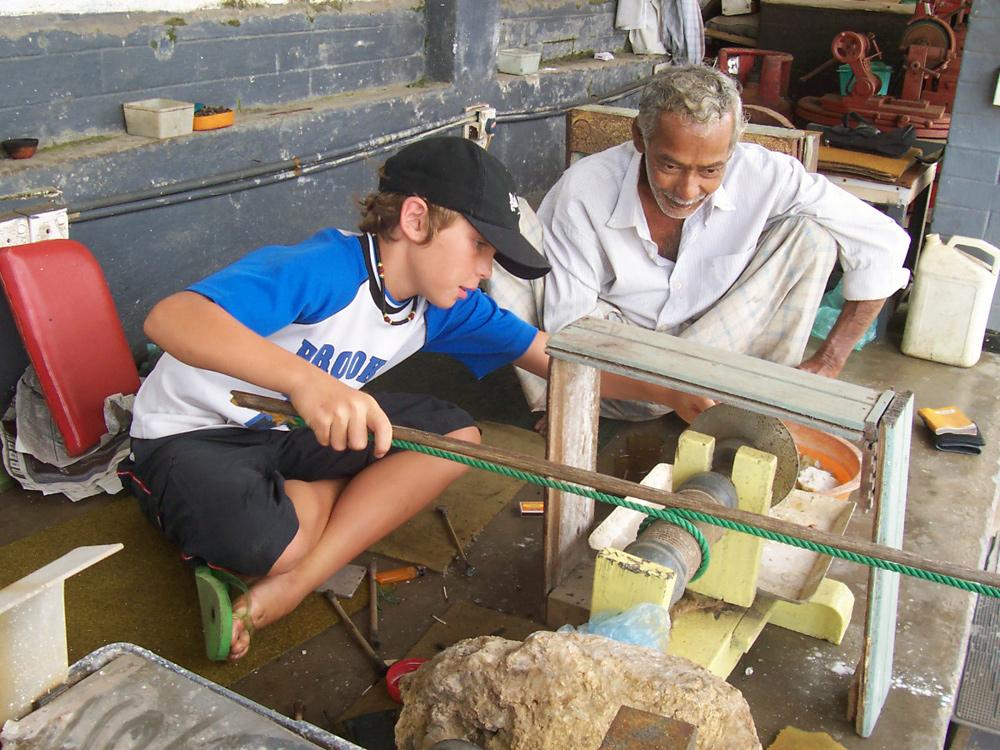 """Ferienarbeiter"", Galle, Sri Lanka"
