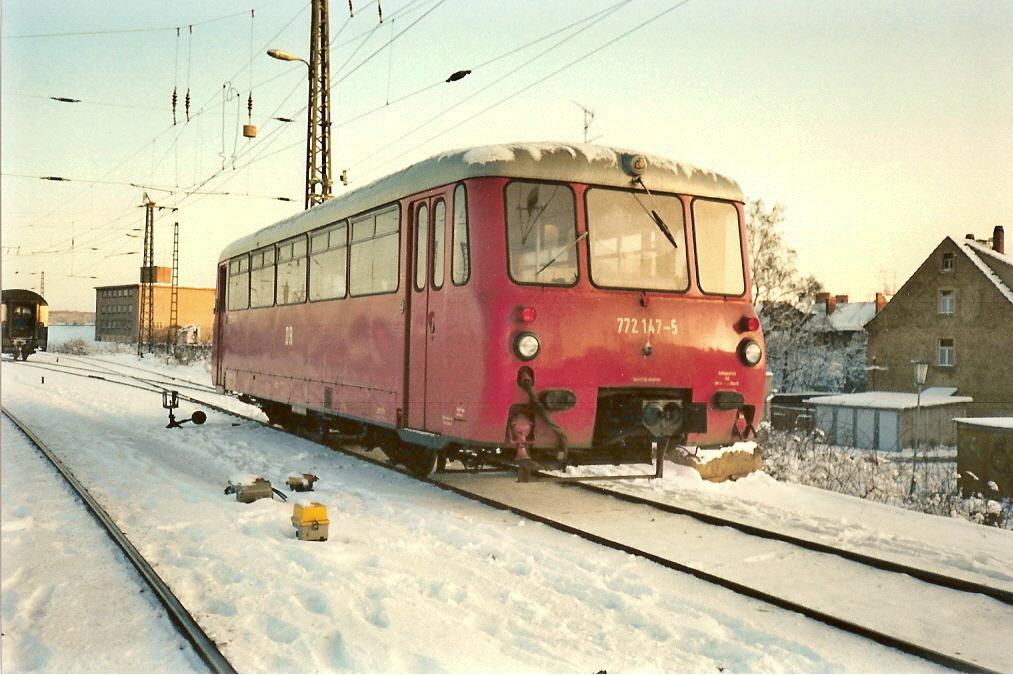 Ferkeltaxe im Winter.(Scan)