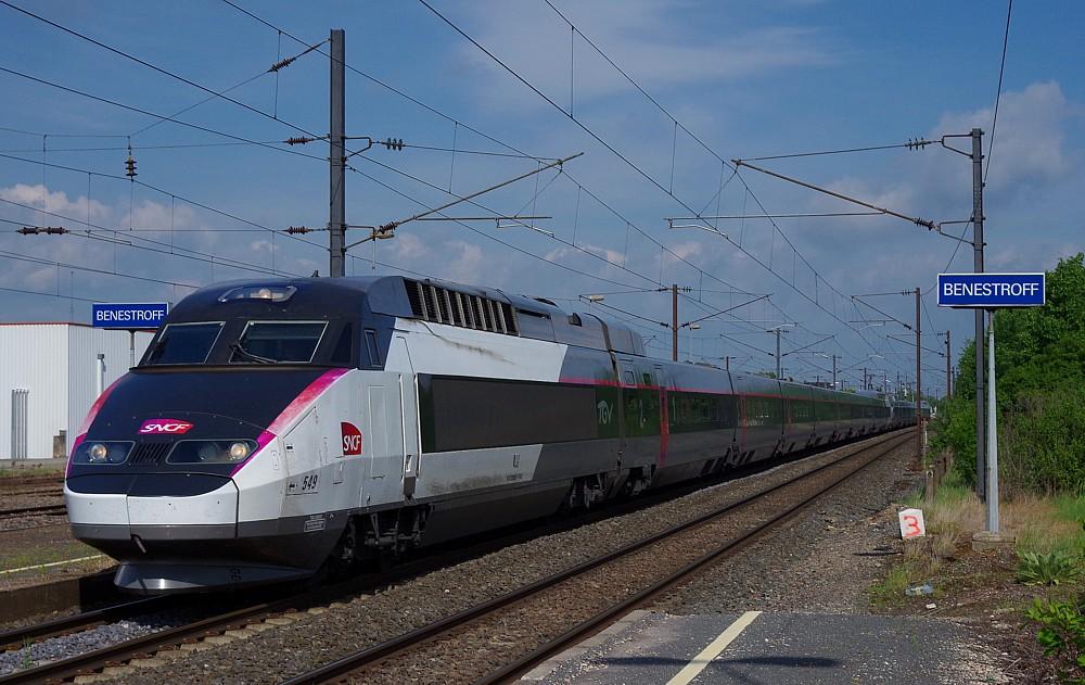 Fern-S-Bahn Strasbourg-Paris