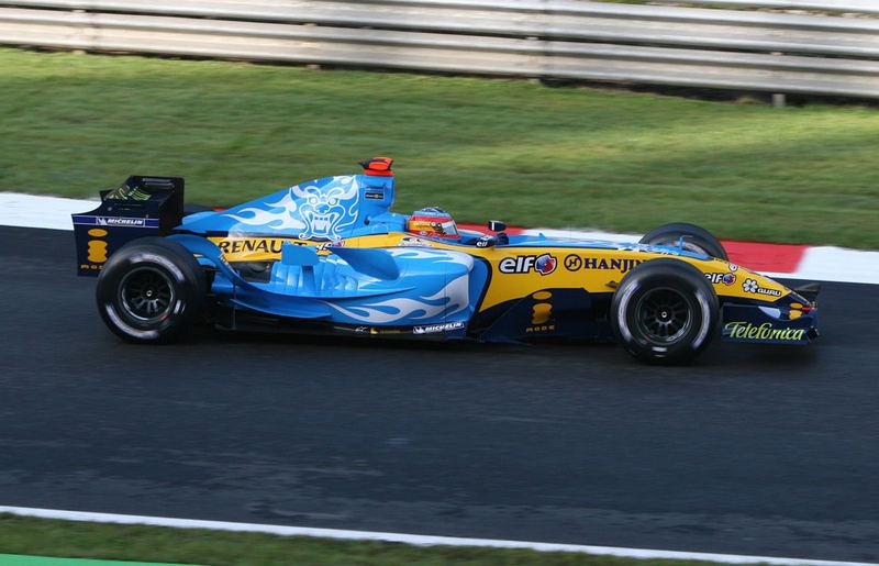 Fernando Alonso ist Formel 1 Weltmeister 2005