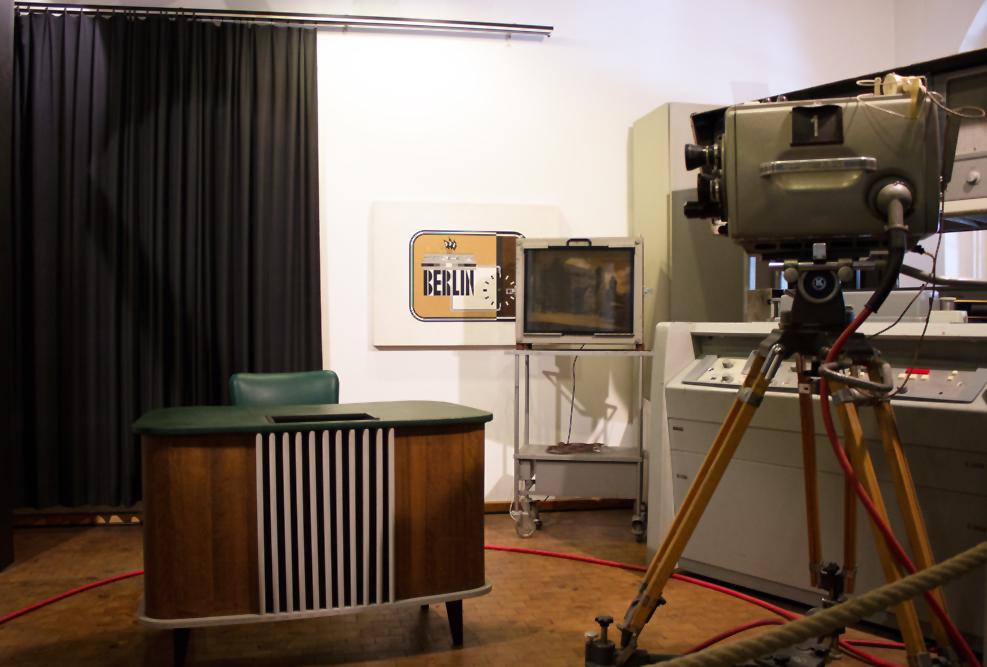 Fernsehstudio von 1958
