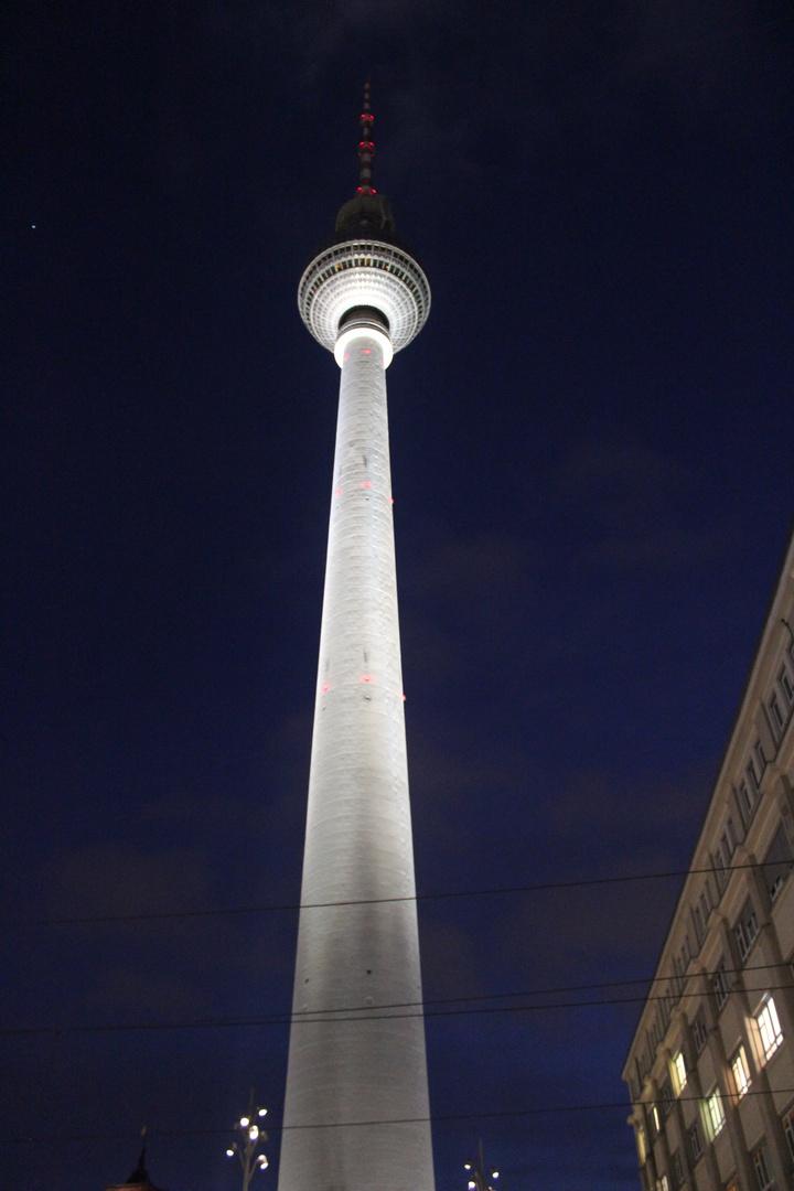 Fernsehturm bei Nacht