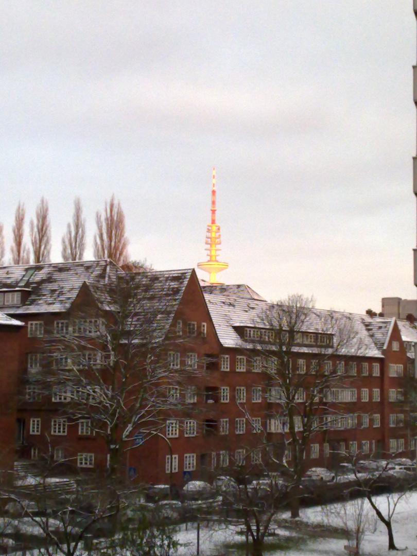 Fernsehturm beleuchtet