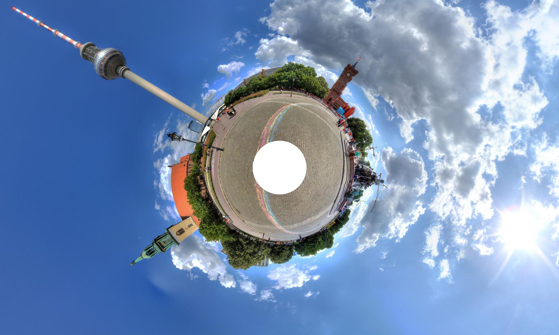 Fernsehturm Berlin Little Planet