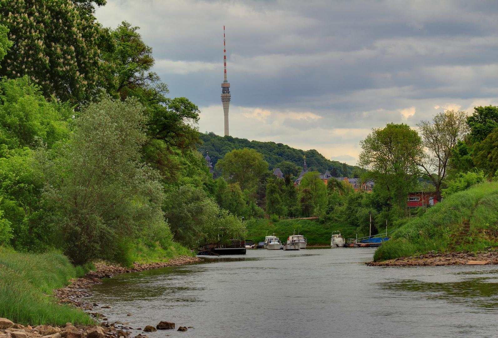 Fernsehturm Dresden HDR