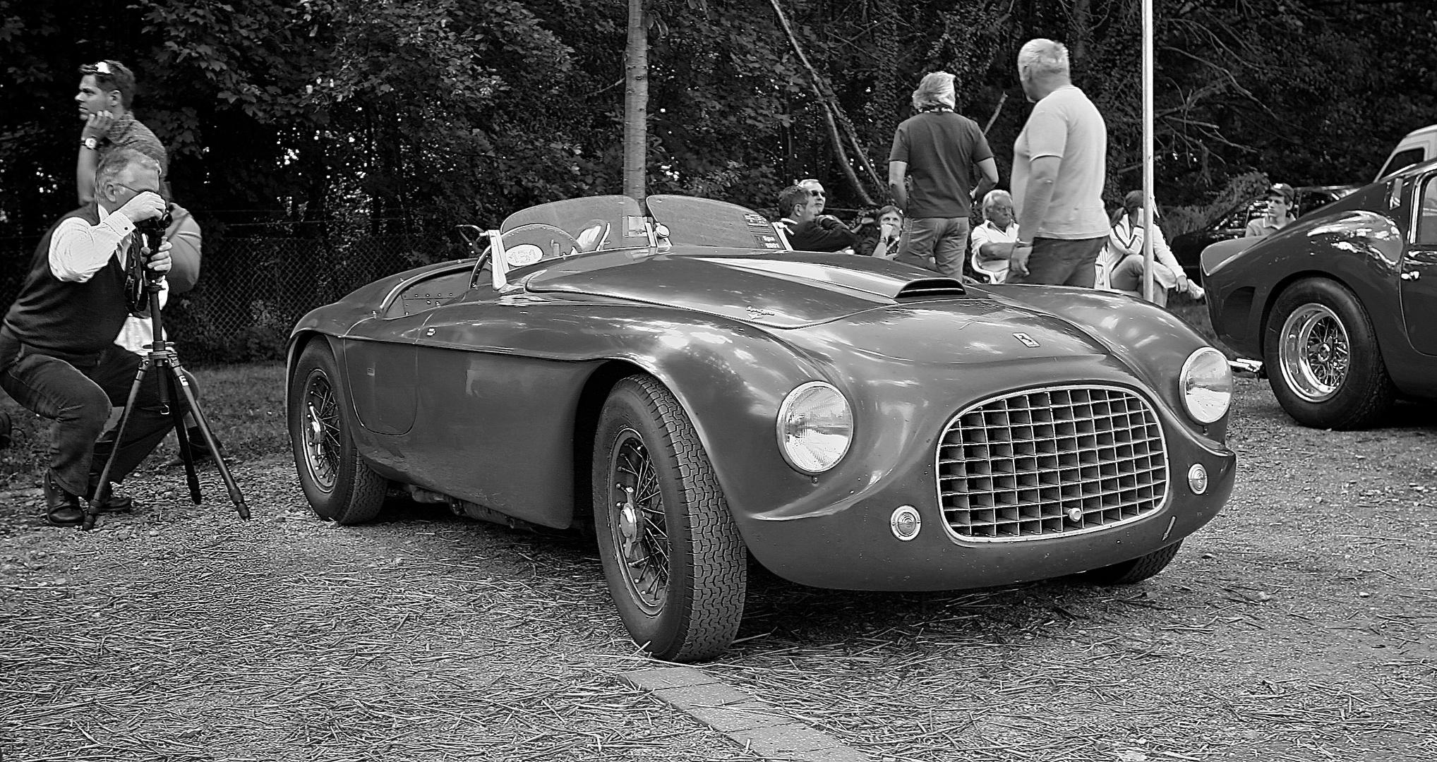 Ferrari 166 MM Touring Barchetta, 1948, Schloss Dyck