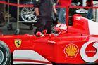 Ferrari F1 2003 (Foto von 2005)