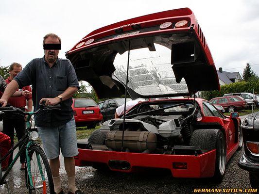 Ferrari F40 gegen Opa Erwin