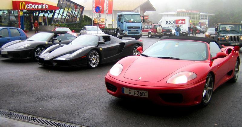 Ferrari - Familienausflug