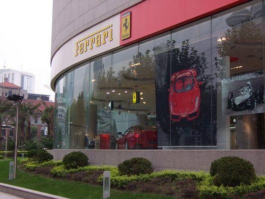 Ferrari in Shanghai