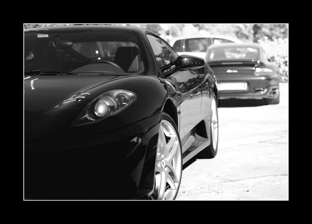 Ferrari oder Porsche??