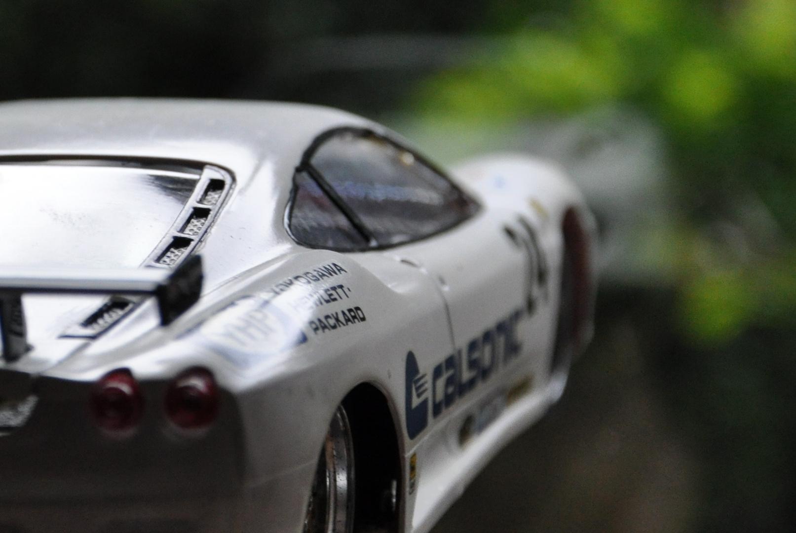 Ferrari Slotcar Studie
