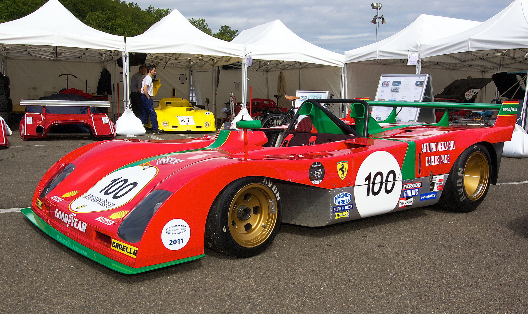 Ferrari Sportprototyp, Spa Classic 2011
