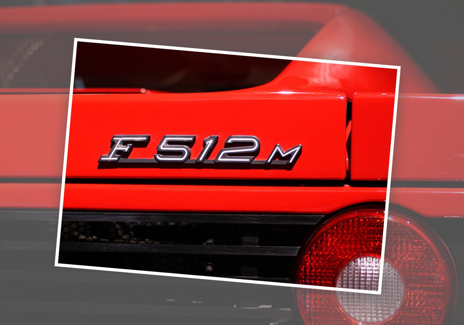 Ferrari Testarossa F512M