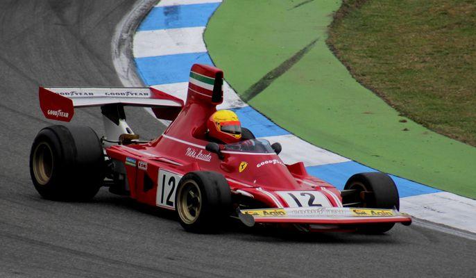 Ferrari von Niki Lauda