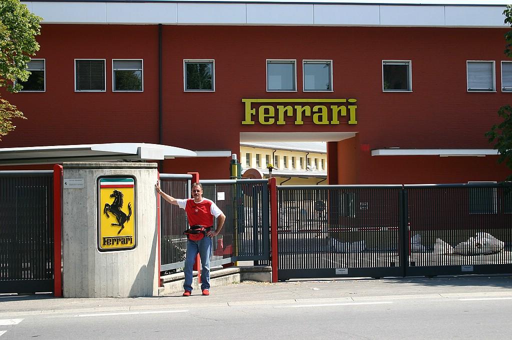 Ferrari Werk in Maranello