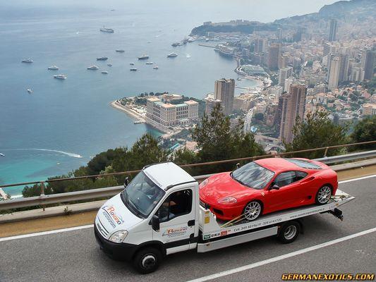 Ferrari wird gerade geklaut !