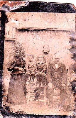Ferrotipo del 1860 circa...