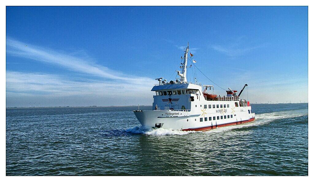 Ferry to Wangerooge