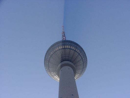 Fersehturm Ost-Berlin...