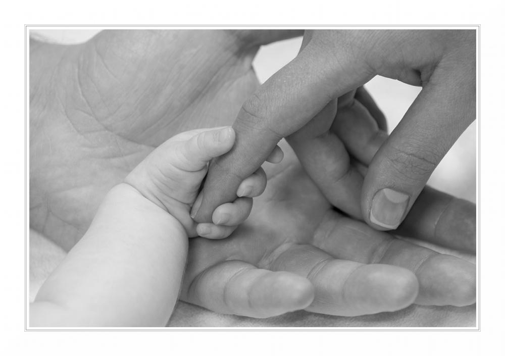Fesselnde Hände