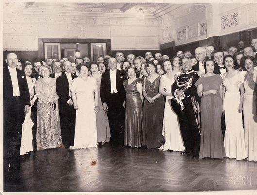Festa della Trieste Bene negli anni '30