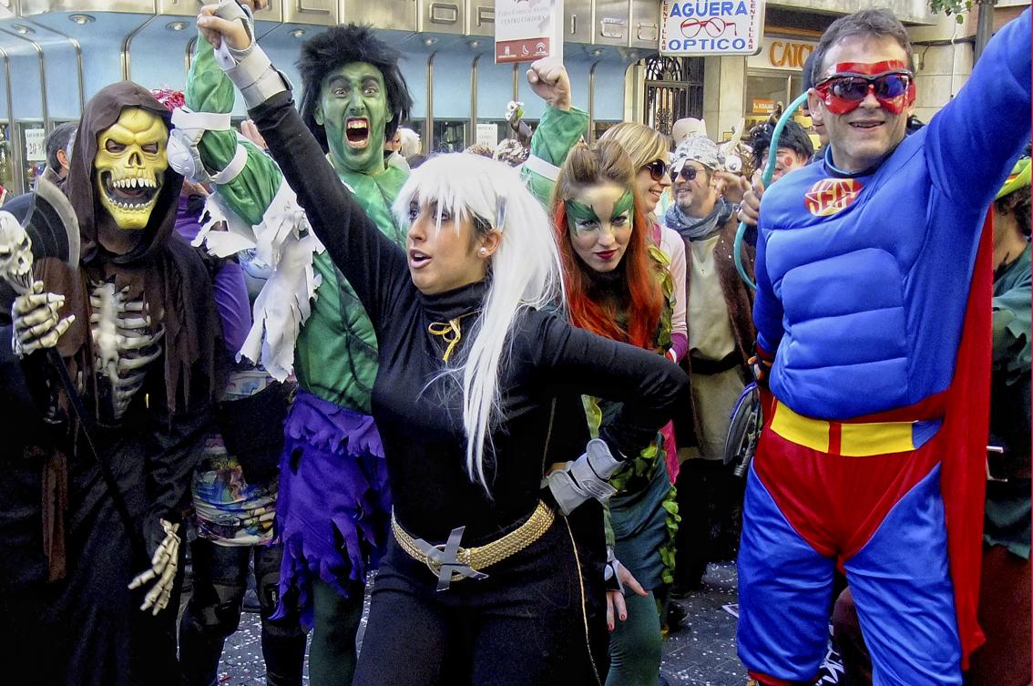 Festejando el Carnaval