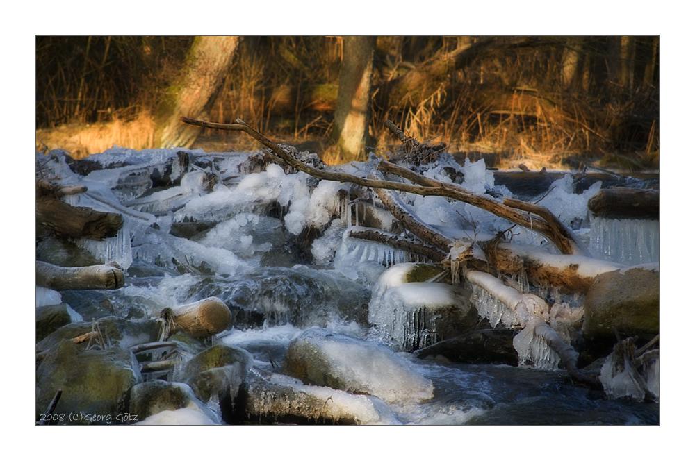 Festes Wasser war in diesen Tagen häufiger anzutreffen ;-)
